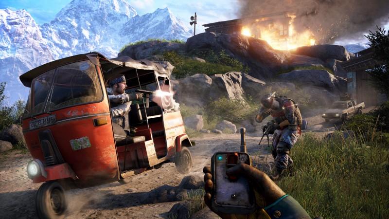 Far Cry 4 od firmy Ubisoft to jedna z najładniejszych strzelanin na rynku, z pewnością warta Waszej uwagi!