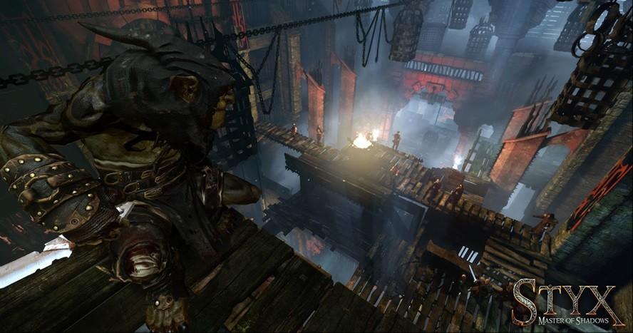 Mroczny klimat fantasy, zbliżony do Dishonored.