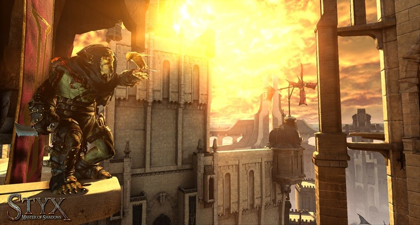 Otwarte lokacje w Styx: Master of Shadows są całkiem przyjemne dla oka.