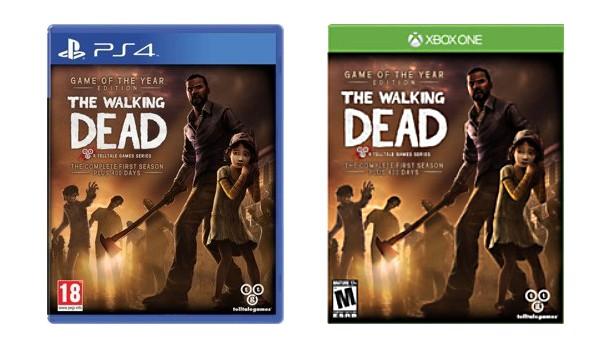 The Walking Dead w wersji na Xbox One oraz PlayStation 4.