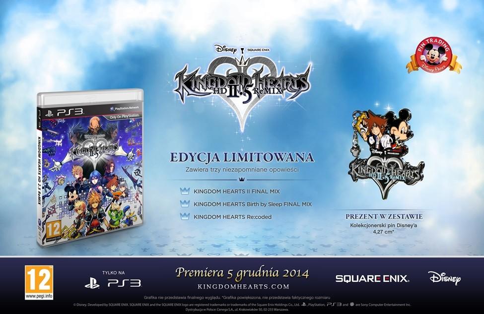 Edycja Limitowana Kingdom Hearts 2.5 HD ReMix.