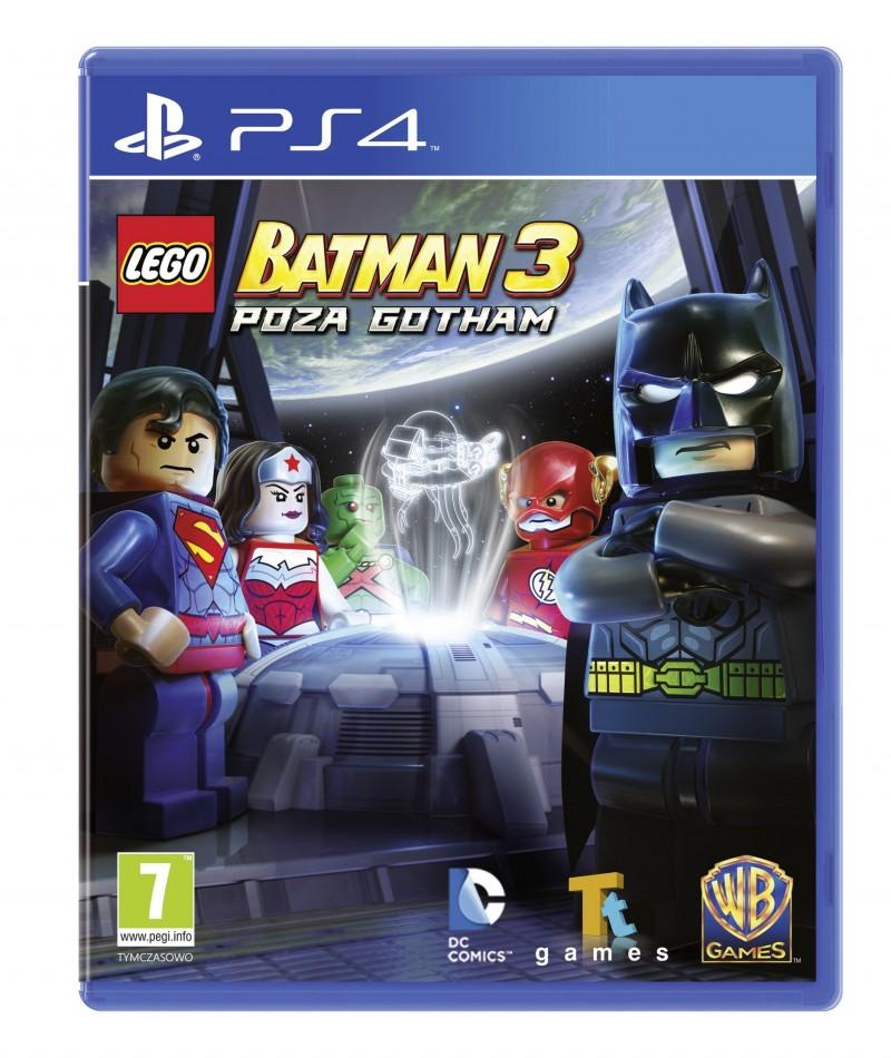 LEGO Batman 3: Poza Gotham w wersji na PlayStation 4.