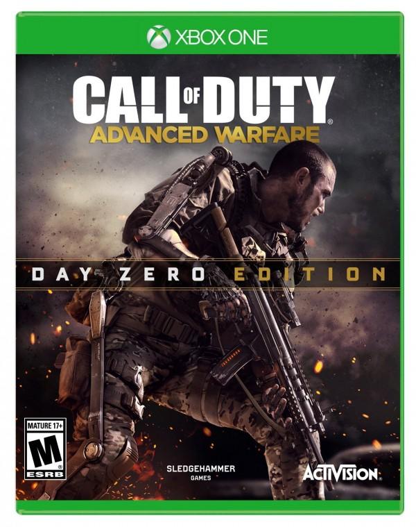 Call of Duty: Advanced Warfare w specjalnej edycji na Xbox One.