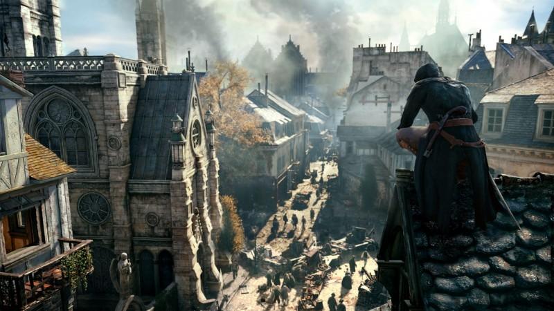 Assassin's Creed: Unity daje dostęp do ogromnego, zróżnicowanego i pięknego Paryża czasów Rewolucji Francuskiej.