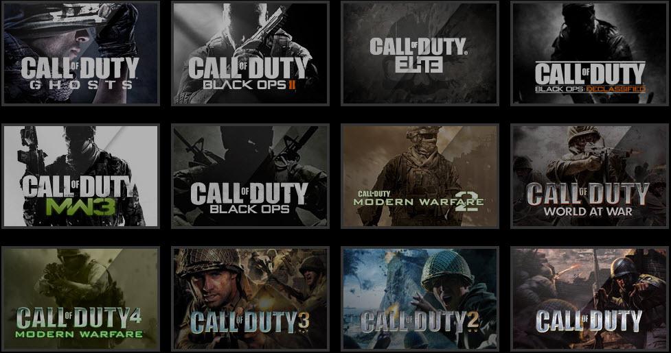 Seria Call of Duty...czy ograłeś wszystkie jej części?