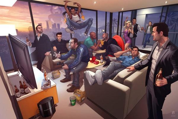 GTA Online - zajęcie dla każdego!