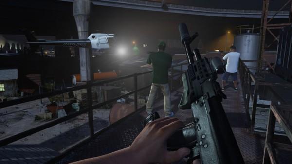 Grand Theft Auto V w wersji FPP? Dlaczego nie!