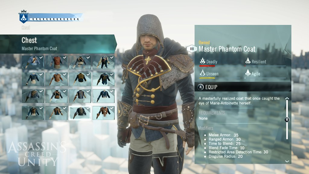 Gracze mogą w dowolny sposób zarządzać ekwipunkiem, uzbrojeniem oraz wyglądem głównego bohatera.