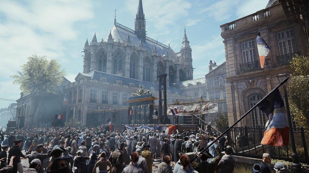 Tłumy rozsiane na ulicach  Paryża robią wielkie wrażenie!