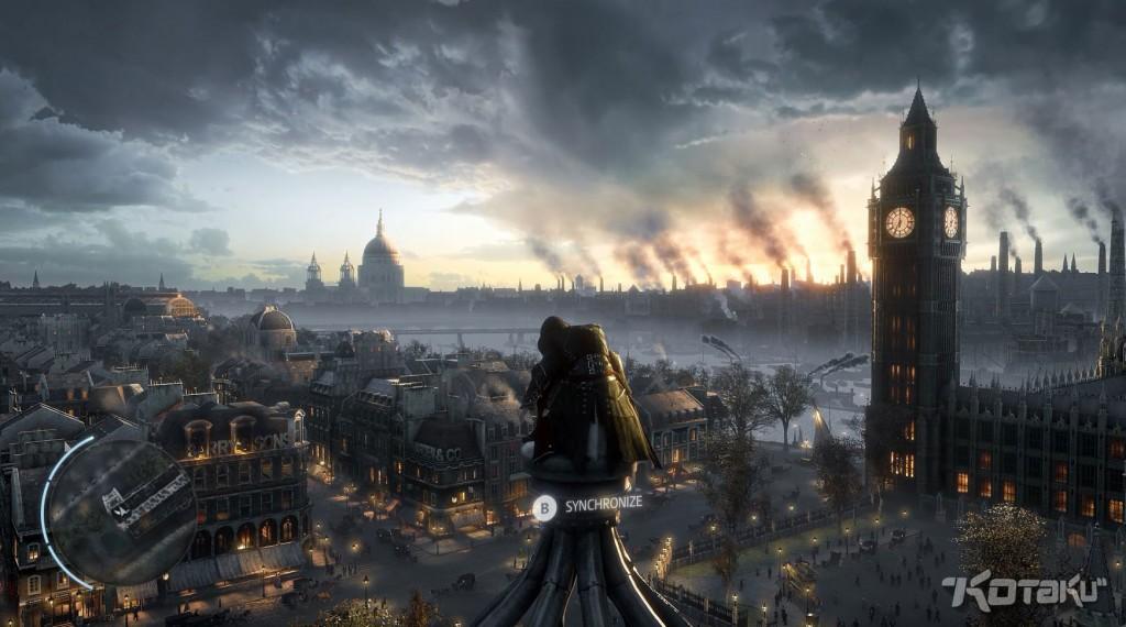 Panorama Londynu robi wrażenie? Robi, prawda?