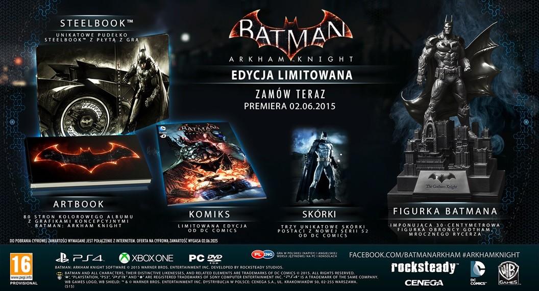 Kolejny zestaw z Batman: Arkham Knight.