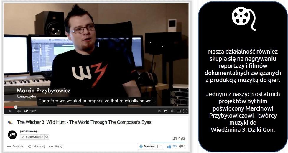 Na gamemusic.pl możecie zapoznać się z dużą ilością ciekawych artykułów oraz wywiadów z twórcami muzyki do gier wideo.