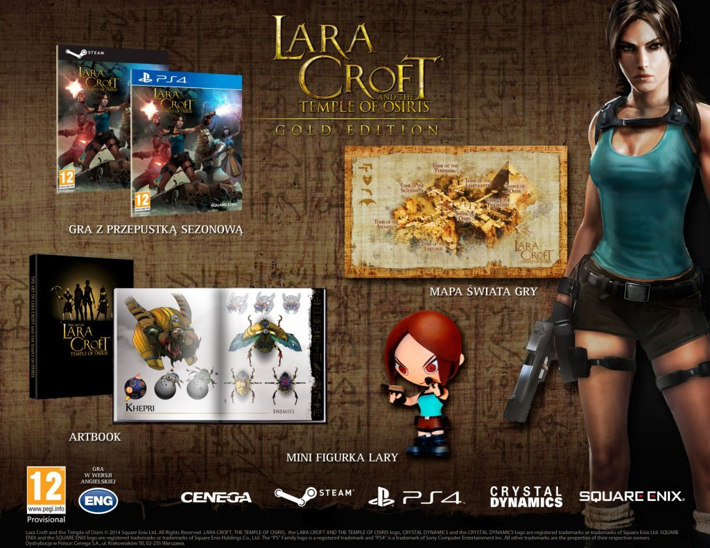 Specjalna edycja gry Lara Croft and the Temple of Osiris!