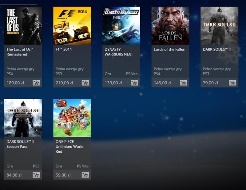 Promocje na PlayStation Store!
