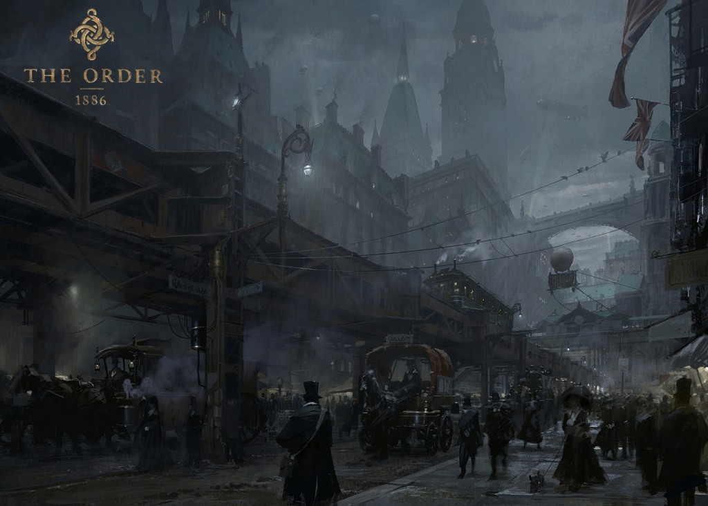 Mroczne lokacje w The Order: 1886 to klasa światowa.