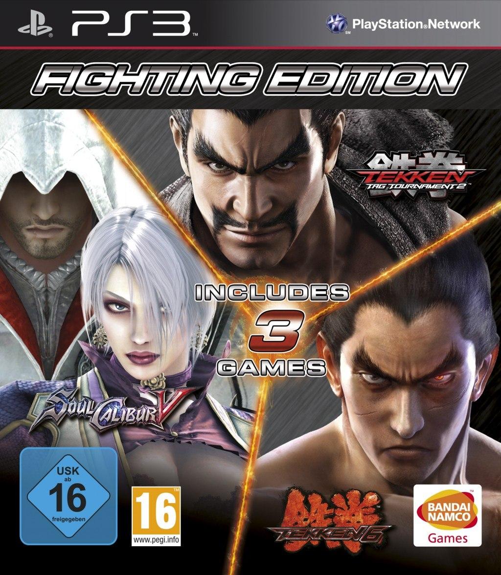 Fighting Edition dostępne tylko na PlayStation 3!