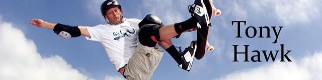 Tony Hawk to legendarny sportowiec, ale i pomysłodawca znakomitego cyklu gier Tony Hawk's Pro Skater!