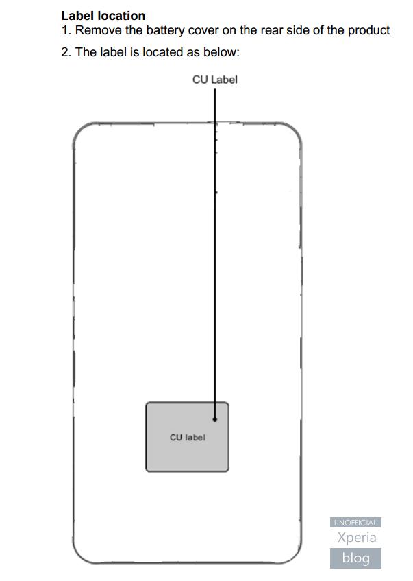 Czyżby szkic Sony Xperia Z4?