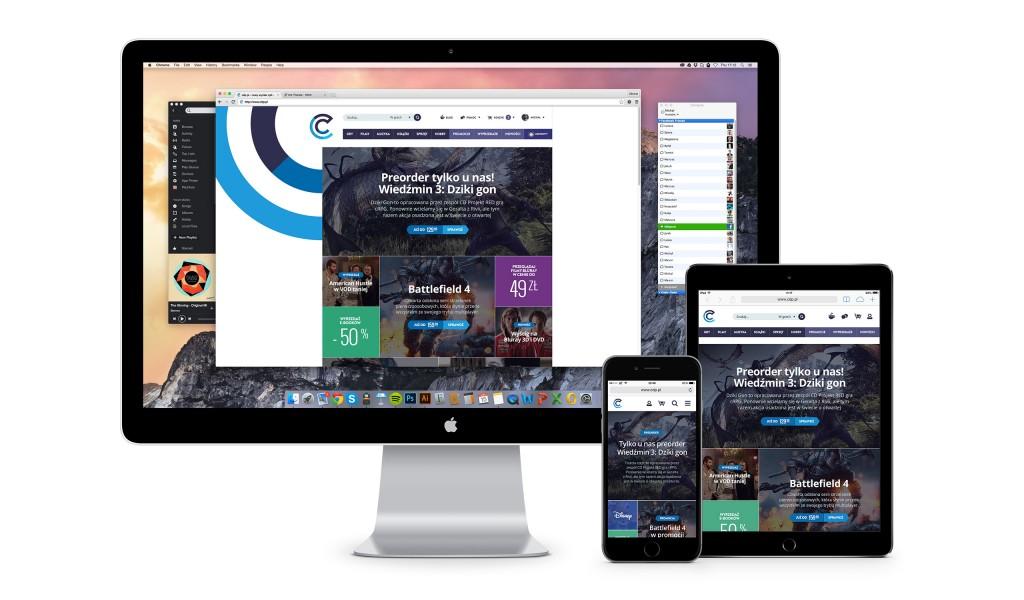 Nowa wersja sklepu CDP.pl jest niezwykle efektowna!