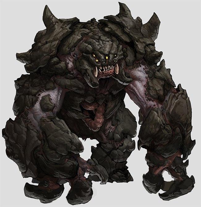 Behemot, kolejna bestia w Evolve.