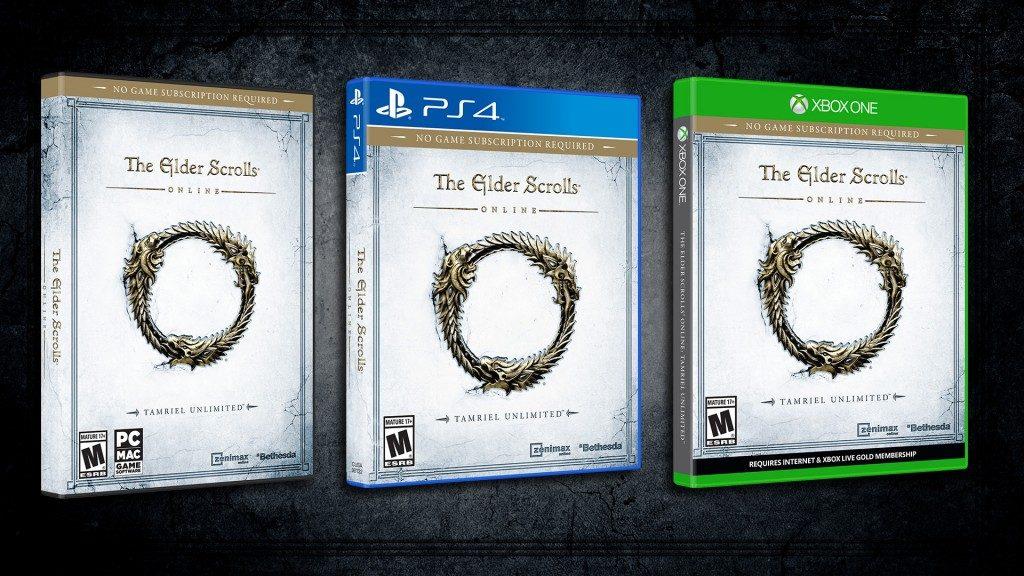 The Elder Scrolls Online w wersjach na PlayStation 4 oraz Xbox One.