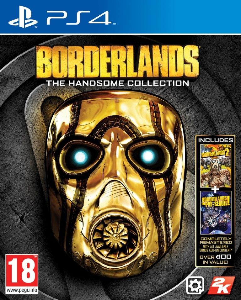 Borderlands THC PlayStation 4 Packshot English