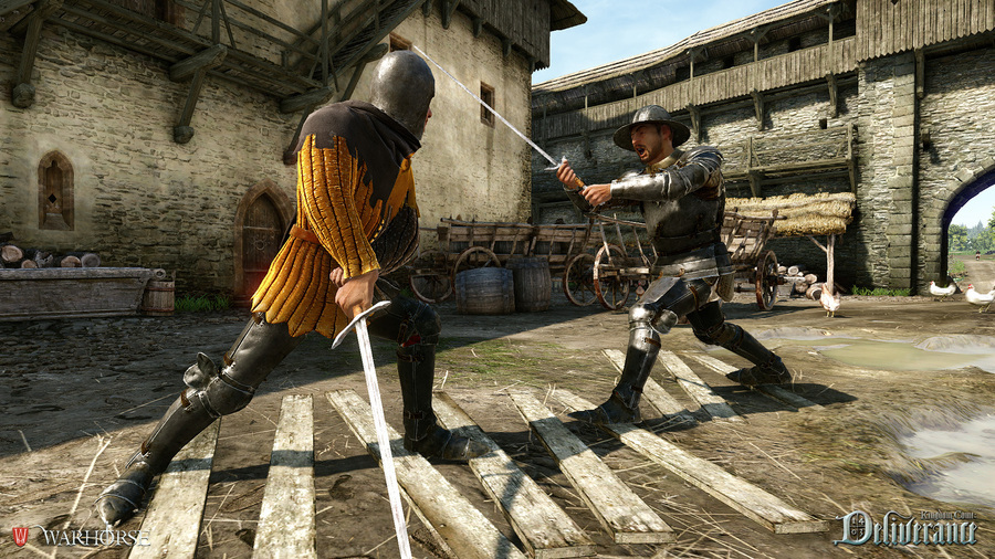 Walka to podstaw a w Kingdom Come: Deliverance!