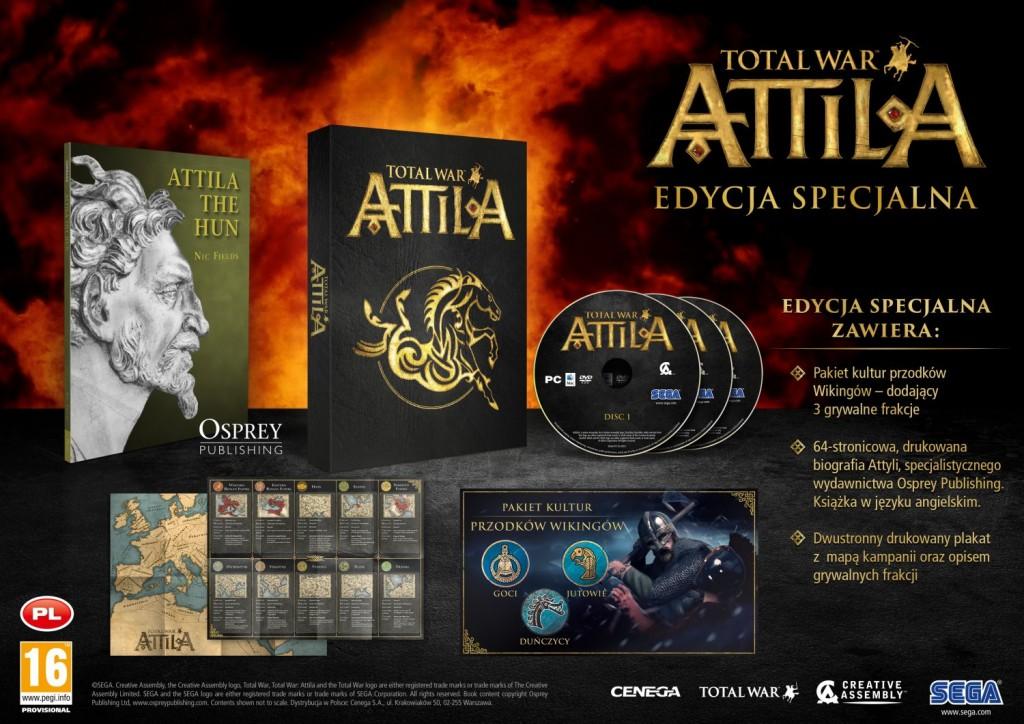 Edycja specjalna Total War: Attila.