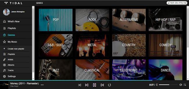 tidal genres
