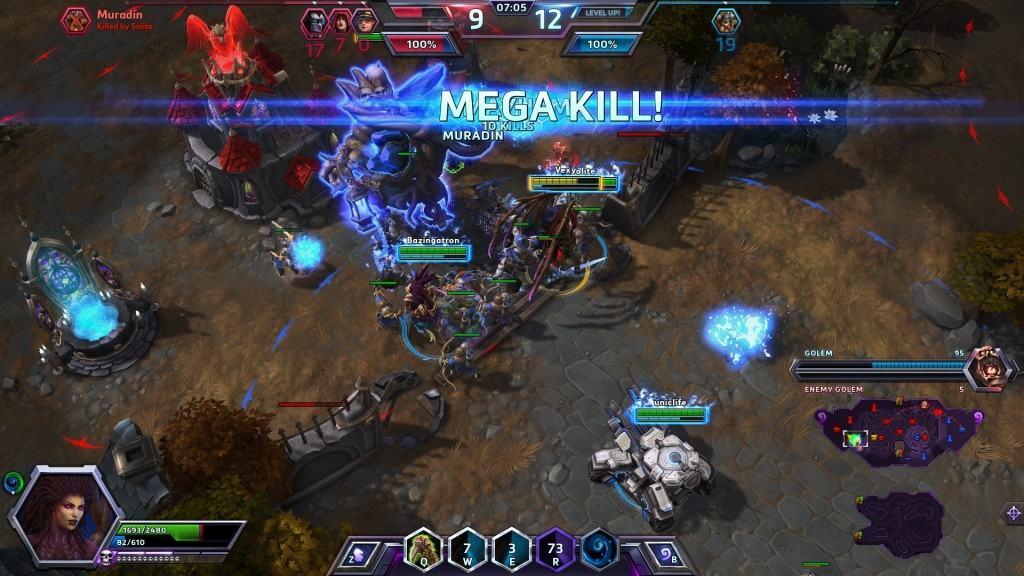 heroes of the storm screenshot