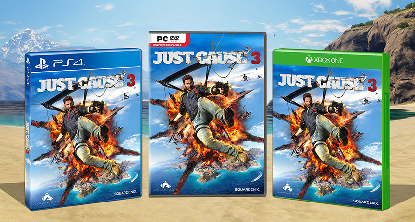 jsut cause 3 covers