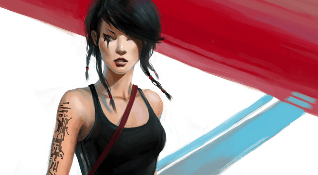 mirrors edge faith