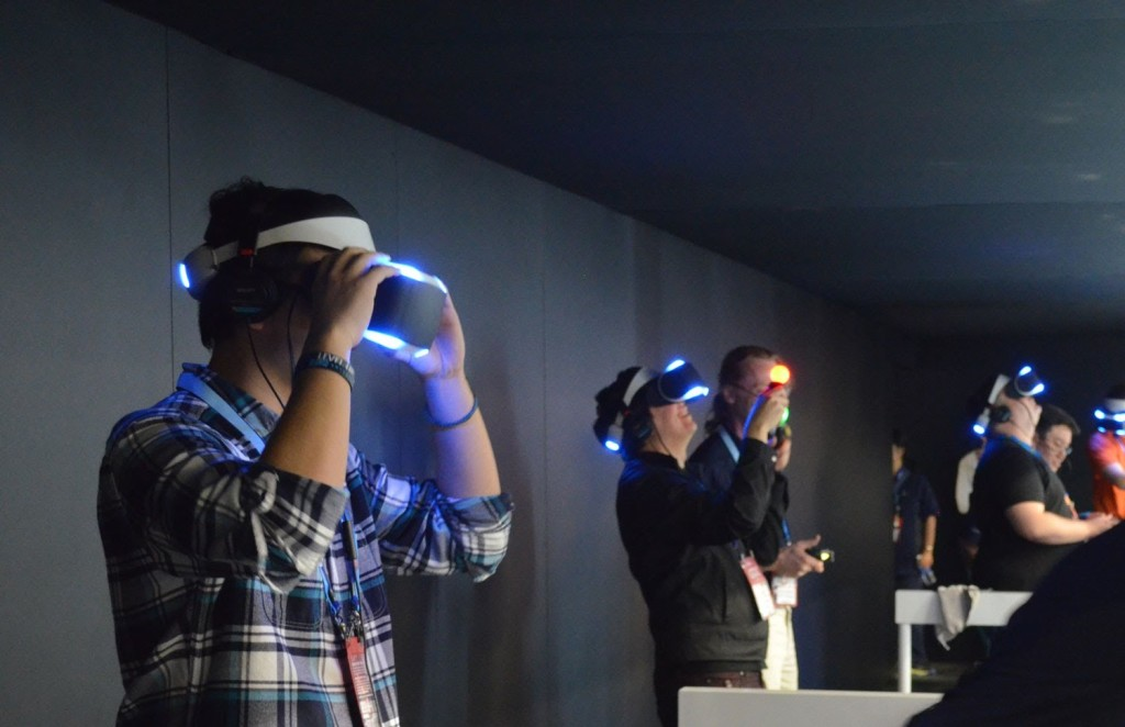 project morpheus gameplay