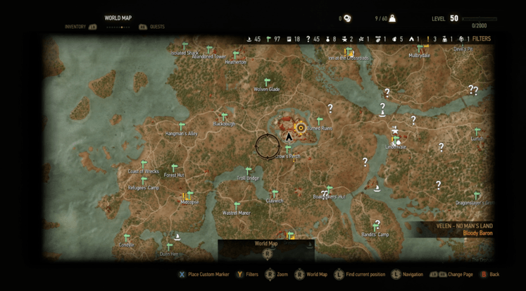 witcher 3 map (2)