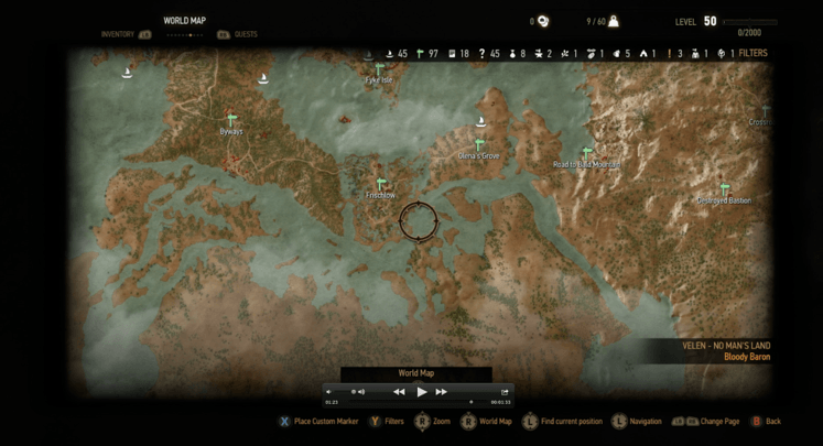 witcher 3 map (3)
