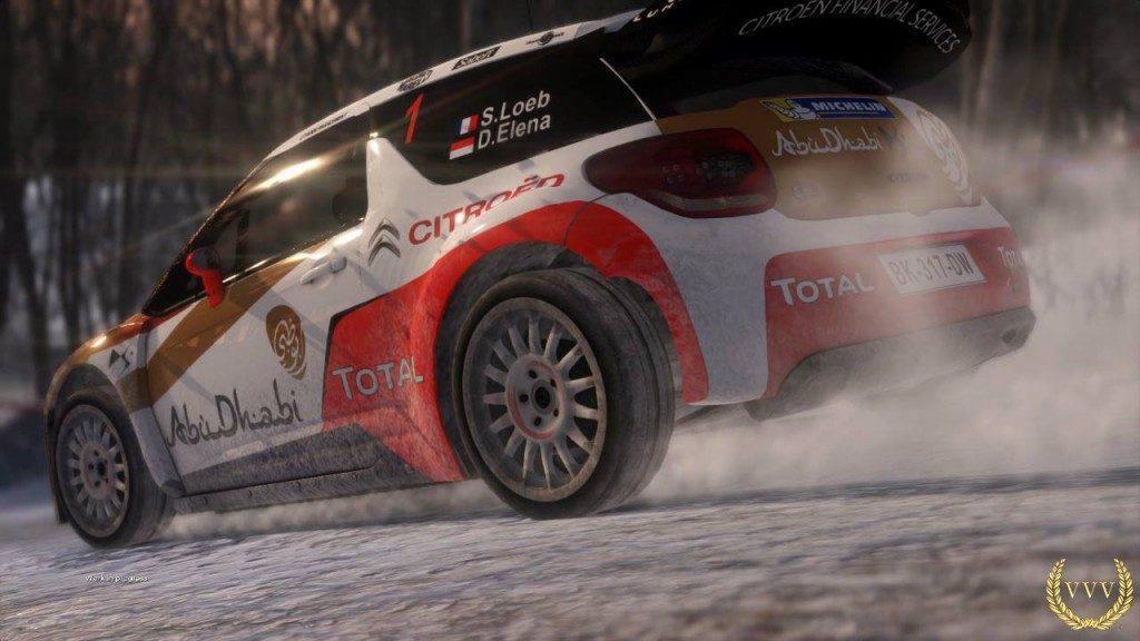 Sebastien Loeb Rally Evo Sweeden PS4 gameplay