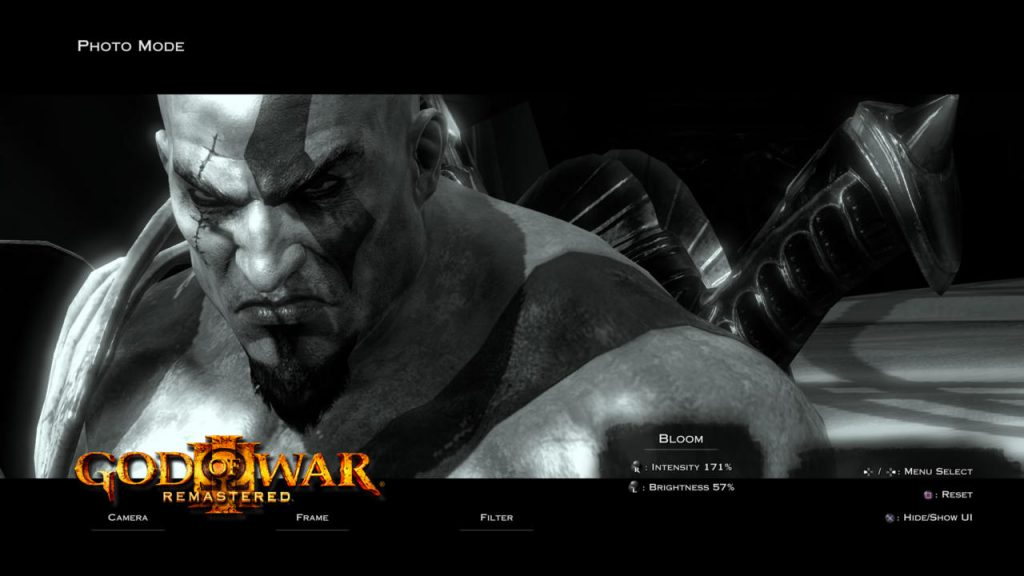 god of war 3 photo mode
