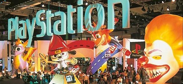 Konferencja E3 1995 w wykonaniu Sony.