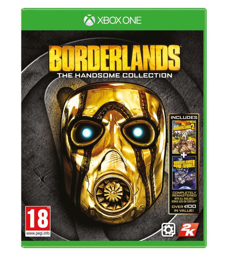 Borderlands THC Xbox ONE Packshot English